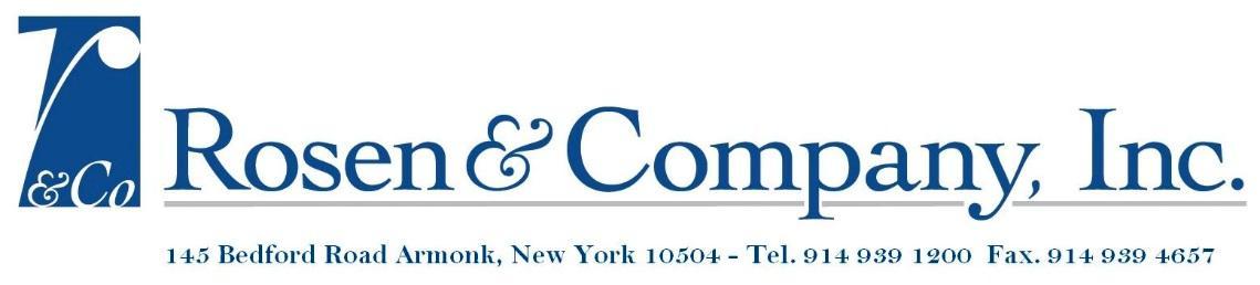 Rosen & Co